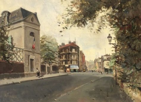 Calle en París, Rafael Durancamps