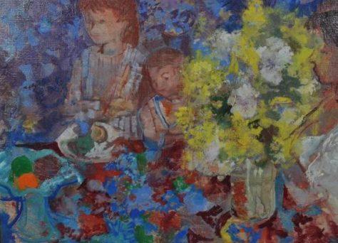 Le bouquet jaune, Emili Grau Sala