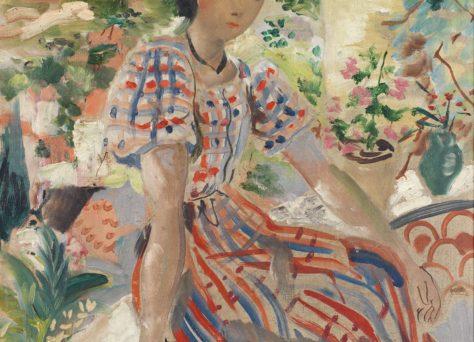 Portrait jeune fille provençale, Emili Grau Sala