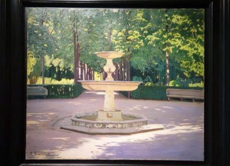 Aranjuez, Fuente de Venus. Santiago Rusiñol